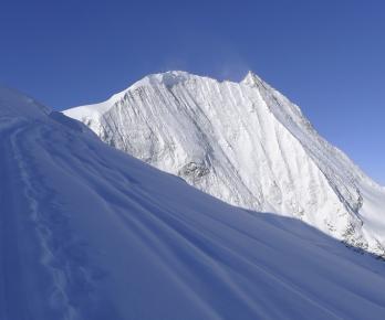 La face nord du Mt-Blanc de Cheillon