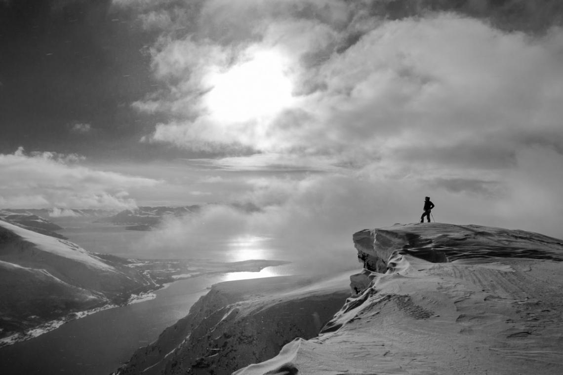 ski de rando en Norvège
