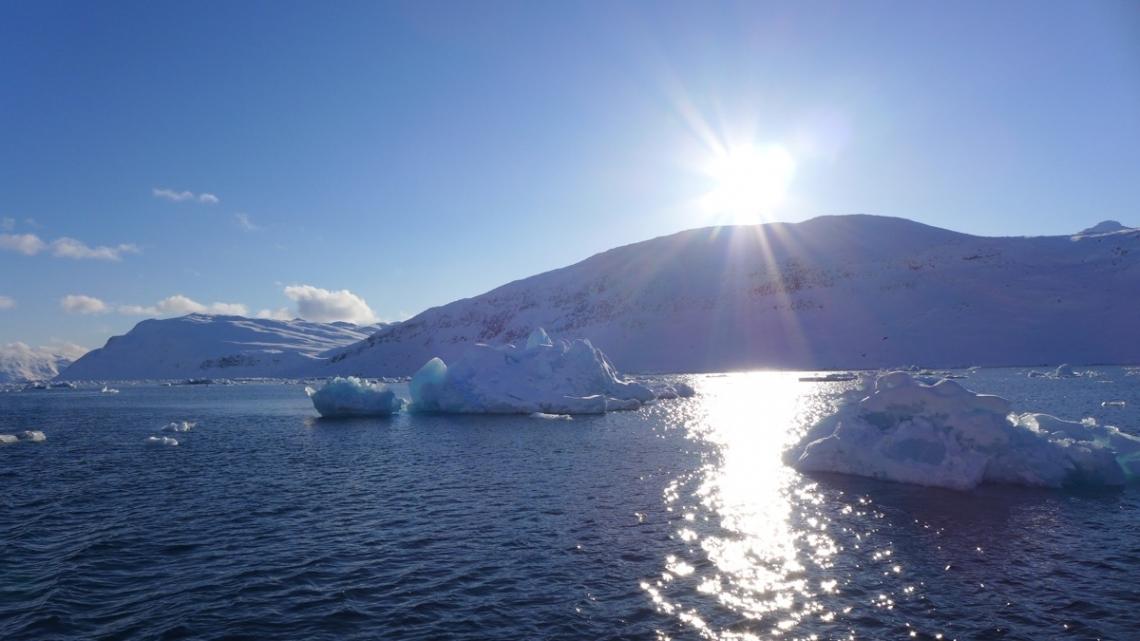 iceberg soleil Groenland